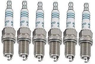 6 PCS *NEW* -- DENSO #4504 PLATINUM T T Spark Plugs -- PK20TT
