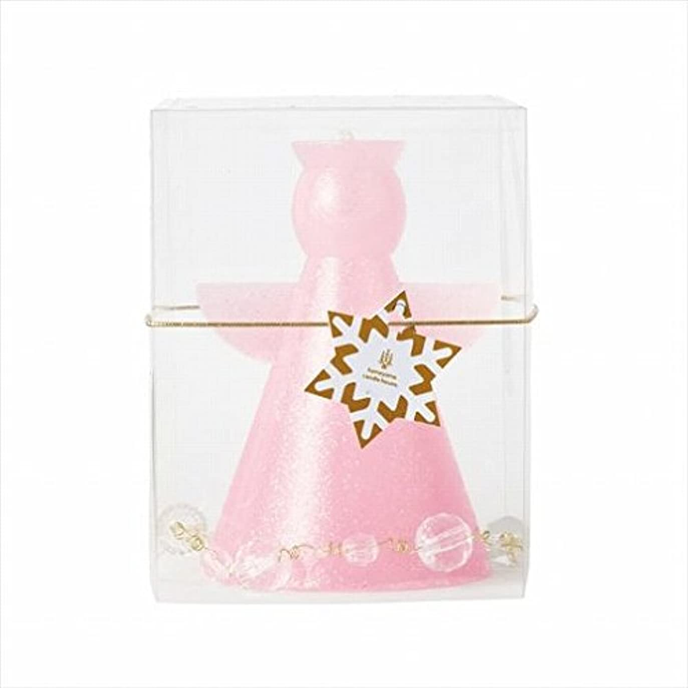 援助するコモランマ業界カメヤマキャンドル(kameyama candle) クリスタルアンジェリカ 「 ピンク 」