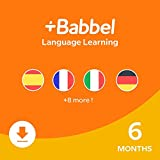 Babbel: Learn a New Language - 6 Month Subscription for iOS, Android, Mac & PC [PC/Mac Online Code]