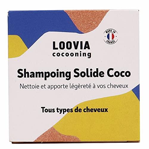 Shampoing Solide Coco | Vegan et Naturel | Shampoing Dur Fabriqué en France | Eco-conçu Et Zero Déchet | Adapté à tout type de cheveux
