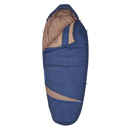 Kelty Tuck Ex 20 Unisex Outdoor Right Hand Zip Sleeping Bag available in Twlight - Regular
