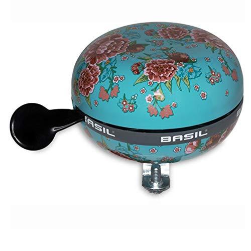 Basil Fahrradklingel Big Bell Bloom, Emerald, 80 mm