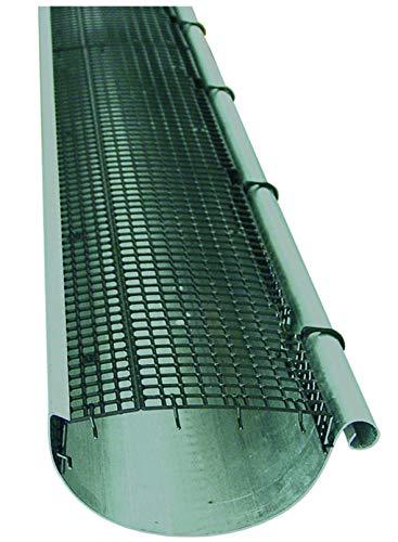 Dachrinnenschutz 3m einfache Montage, anpassbare Breite und Länge, Made in Germany