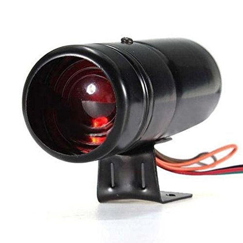 ESUPPORT Red Led Adjustable Tachometer Rpm Tacho Gauge Shift Light 1000-11000 Universal