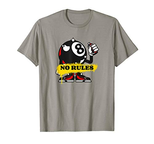 Funny Billiards 8 Ball No Rules T-Shirt