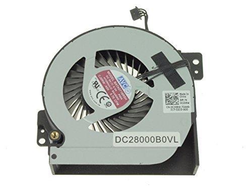 Ventilador de CPU Nuevo reemplazo del ventilador del enfriador de enfriamiento para Dell Precision M6700 Ventilador de enfriamiento de gráficos - Ventilador pequeño P / N: CJ0RW 0CJ0RW DC28000B0SL BAT