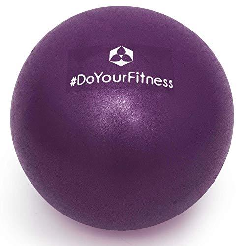 #DoYourFitness Mini Palla per Pilates »Bola« Palla miofasciale per Combattere tensioni e dolori muscolari, 33 cm, Viola