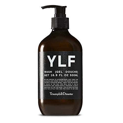 Triumph & Disaster YLF Body Wash and Shampoo 500ml – Sandalwood Natural Mens Body Wash - organic body wash