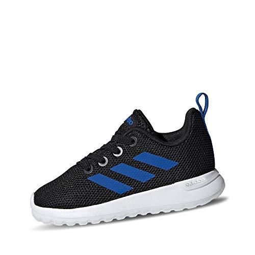 adidas Unisex Baby LIite Racer CLN I Laufschuh, CBLACK/Blue/FTWWHT, 20 EU