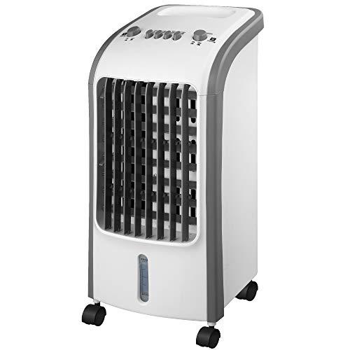Ventilador refrigerador portátil Barrow 80 W 3 velocidades timer Capacidad 4 litros Refrigerador por Evaporación