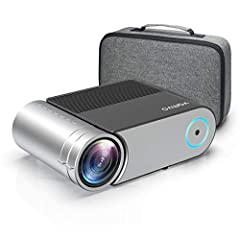 ★【Superior Home Theater Projector】: Vamvo L4200 projector is professionally made as an HD video projector, ideal for home entertainment. 2020 upgraded LED lighting delivers 80%+ more brightness than previous version. With 1080P resolution supported, ...