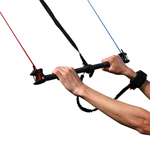 Flexifoil Power Kite Control Bar and Safety System | Four Line Quad Kite | Easy to Use | Adults Older Kids Kite Steering for Beach Summer Trick Stunt Sport Kiting | Landboarding Buggying Static Flying