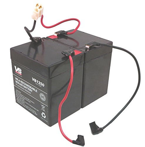 Razor E100 Scooter Batteries - 5Ah with Wire Harness by VICI Battery