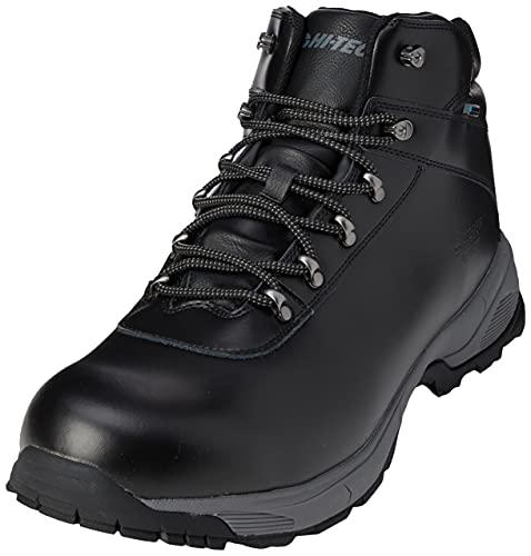 HI-TEC Eurotrek Lite WP, Stivali da Escursionismo Alti Uomo, Nero Black, 49 EU