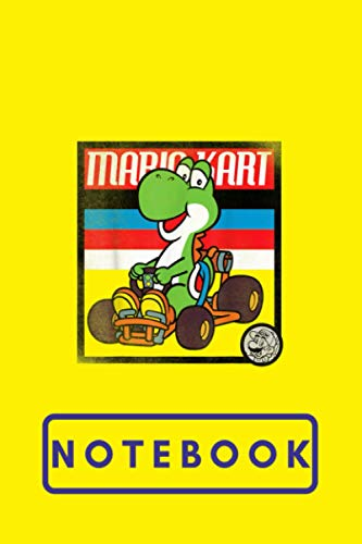 Composition: Mario Kart 8 race your friends Notebook Wide Ruled 7.5 x 9.25 in, 100 pages book for girls, kids, school, students and teachers