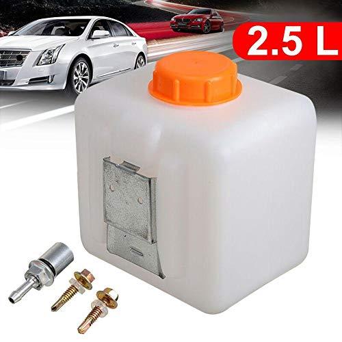 HNOOSTER 2,5 l Kraftstofftank Öl Kraftstoff Diesel Wassertank Flasche Dosen-Kit für Elektroauto-Parkheizung Auslaufsicherer Kraftstoffbehälter