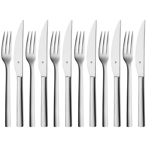 WMF 1291439990 Grill-/ Steakbesteck Set Nuova, 12-teilig