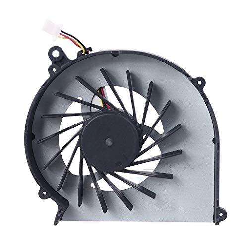 EWAT Ventilador de refrigeración de CPU para ordenador portátil, refrigeración de CPU para Compaq CQ43 G43 CQ57 G57 430 431 435 436 630 635 radiador disipador de calor