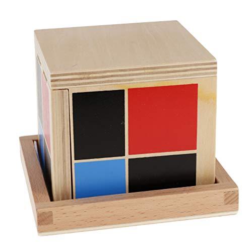 KESOTO Juego de Juguete Cubo Binomial para Aprender Álgebra Equipo de Reemplazo