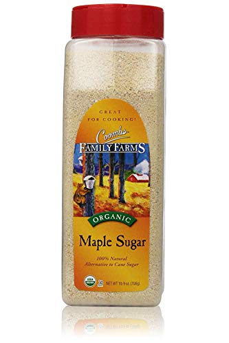 Coombs Family Farms Organic Maple Sugar, 1lb 9-Ounce Container