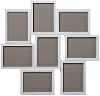Ikea Plastic White Collage Frame For 8 Photos, 13x18cm each Photo
