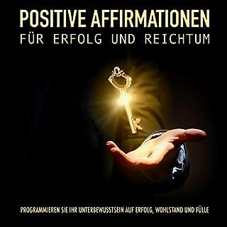 Positive Affirmationen für Erfolg und Reichtum Titelbild