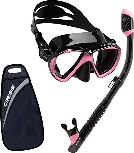 Cressi Ranger & Tao Dry - Combo Set Máscara y Snorkel,...