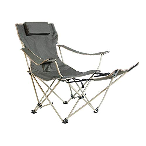 Z-LIANG Folding Campo Sedia Portatile gravità Zero Lounge Chair Poltrone for Patio, Piscina con portabicchieri e Cuscino