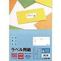 エーワン ラベル用紙12面L12B-100