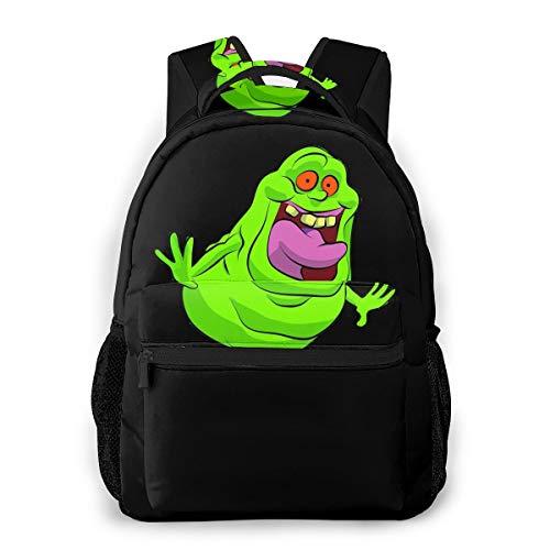 Ghostbusters Casual Backpack Männer Canvas Mode Rucksack Schule Schultasche Jungen Freizeit Druck Daypack Outdoor Travel Backpack Groß48760431
