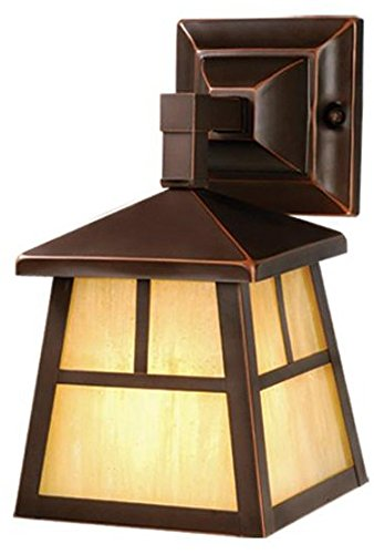 Vaxcel OW37263BBZ Mission 6-Inch Outdoor Wall Light, Burnished Bronze
