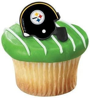 NFL Pittsburgh Steelers Cupcake Rings 12 Pack