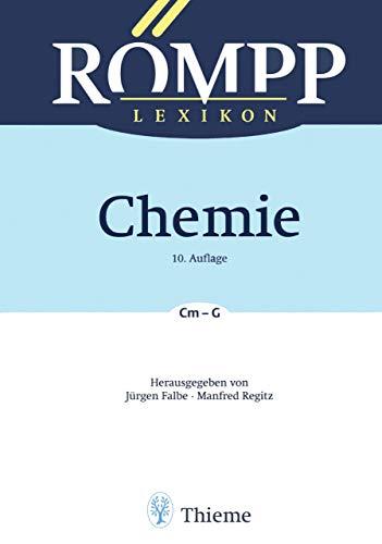 RÖMPP Lexikon Chemie, 10. Auflage, 1996-1999: Band 2: Cm - G