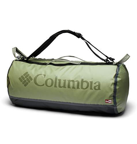 Columbia Unisex's OutDry Ex 80L Duffel Bag, Safari, Black, O/S