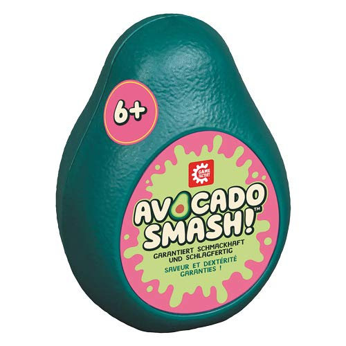 Game Factory 646236 Avocado Smash-das blitzschnelle Ablegespiel für Freunde und Familie, Kartenspiel für Kinder ab 6 Jahren, Grün