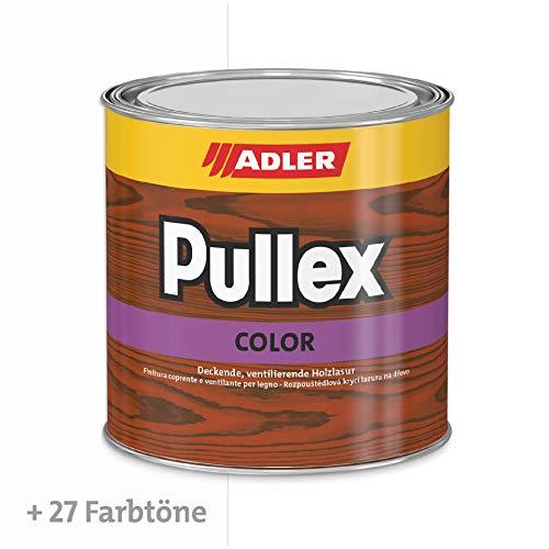 Pullex Color W10 2.5l Weiß Holzfarbe Deckfarbe Wetterschutzfarbe
