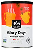 365 by Whole Foods Market, Ground Coffee, Glory Days - American Roast (Canister), 10 Ounce