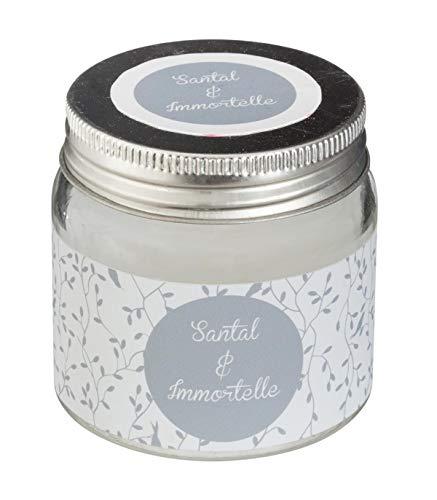 AC-Déco Bougie 65 g - Parfum Santal et Immortelle