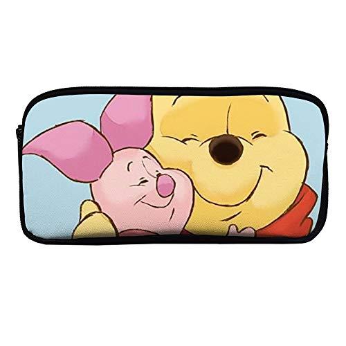 Astuccio Winnie The Pooh Hug Piglet cerniera portapenne per ufficio scuola cosmetici borsa quotidiano Essentials