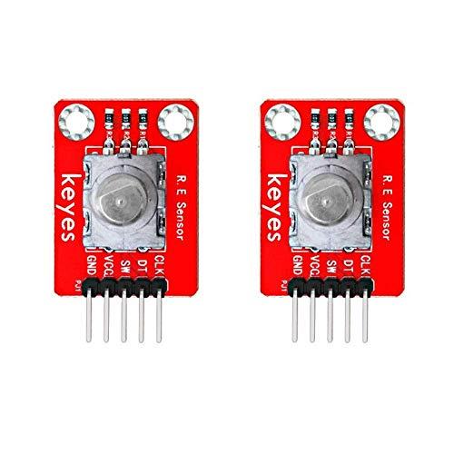 HYY-YY 2PCS Rotary Encoder Module for/raspberry pi / STM32/micro:bit