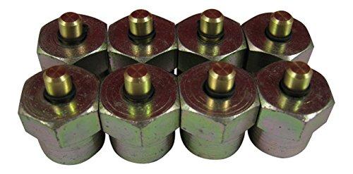 Best Price! AccurateDiesel Duramax LB7 LLY Diesel Injector Block-Off Tool / Cap (Set of 8)