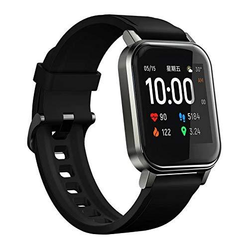 Relógio SmartWatch Haylou LS02 (Versão Global), À Prova D'água (IP68), c/ Bluetooth 5.0, Full Touch, Sensor de Batimentos Cardíacos e até 20 dias de bateria + Película. Já no Brasil, com !
