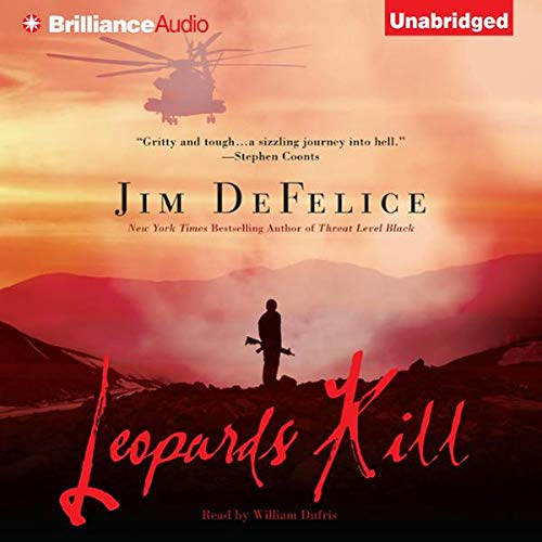 Leopards Kill                   By:                                                                                                                                 Jim DeFelice                               Narrated by:                                                                                                                                 William Dufris                      Length: 9 hrs and 50 mins     1 rating     Overall 5.0