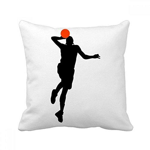 DIYthinker Capa de almofada para sofá de dormir Slam Dunk Jumping Sports Basketball