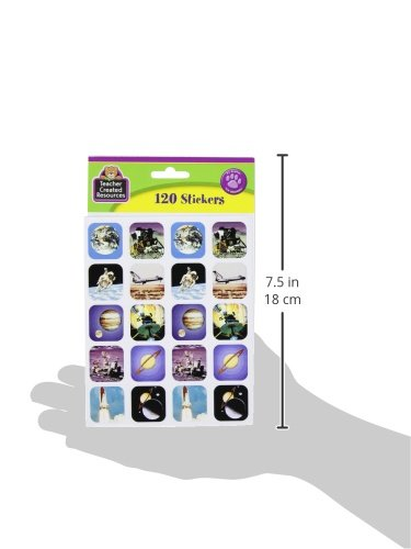 Teacher Created Resources Space Stickers, Multi Color (1801) Photo #2