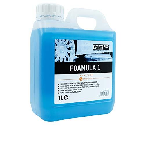 ValetPRO Foamula 1 1 Liter Snow Foam pH Neutral Autoschaum Reinigung Vorwäsche