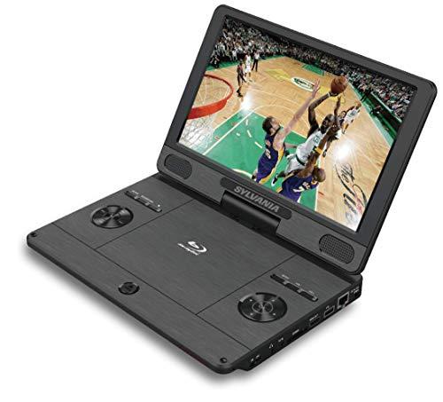 『シルバニア11.4インチ720 pポータブルブルーレイ、DVD、CD、USB、SDマルチメディアプレーヤー高解像度HD(11.4インチ)』のトップ画像
