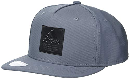 adidas Affiliate High Crown Structured Snapback Cap, Grey, One Size