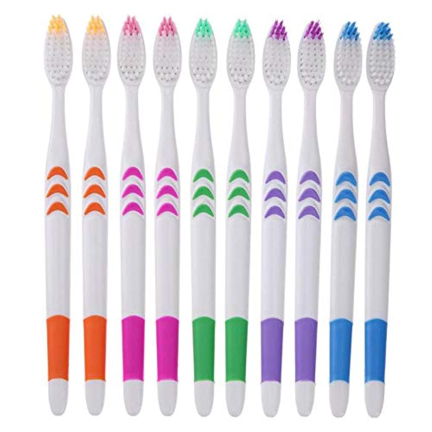 それに応じて露骨な自由Maxcrestas - ダブルウルトラソフト歯ブラシ竹炭ナノ歯ブラシ歯科パーソナルケア歯ブラシ