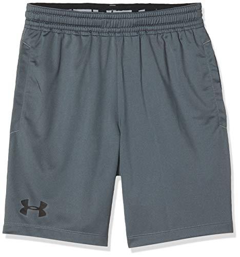 Under Armour MK1 Shorts, Short Homme, Gris, L